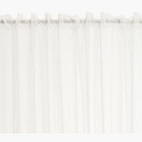 Záclona DIMMA 1x140x245 lněný vzhled