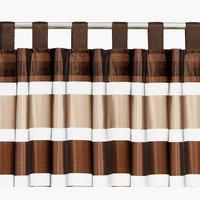 Штора HORGO 140x300 коричневый