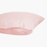Funda almohada satén 45x75 rosa KRONBORG