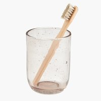 Copo escova dentes ESSVIK vidro recicl