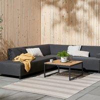 Lounge GAMST+UHRE 6 pers. gris foncé