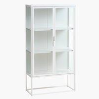 Vitrine Cabinet VIRUM weiß