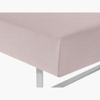 Lenzuolo Jersey 90x200x32cm rosa cipria