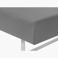 Lenzuolo Jersey 180x200x32cm grigio antr