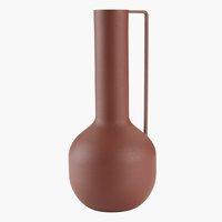 Váza DENNO Ø11xV25 cm červená