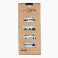 Batterie WILMER AAA 10 Stk/Pck