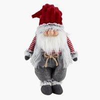 Babbo Natale HOD H52cm grigio