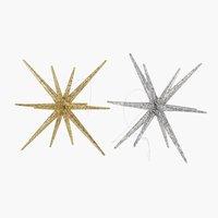 Αστέρι ASLAUG Ø12xΥ8cm διάφ.