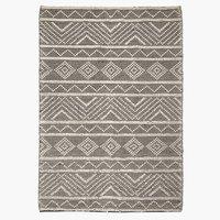 Teppich VANDMYNTE 140x200 beige/schwarz