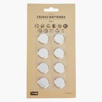 Baterije WILMER CR2032 8kom/p