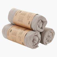 Jersey sheet KNG grey