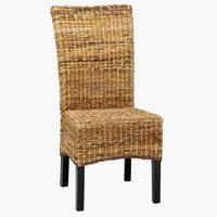 Jedálenská stolička TORRIG prírod./hnedá