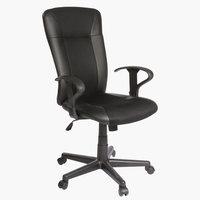 Krzesło biurowe SUNDS czarny