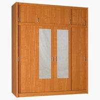 Szafa GENTOFTE 4-drzwiowa kolor olchy