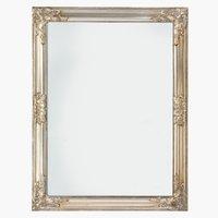 Lustro RUDE 70x90cm srebrne