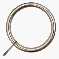 Curtain rings PRESTINE 28mm 8 pack silv.