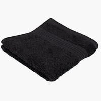 Face cloth KARLSTAD black KRONBORG
