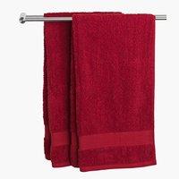 Fürdőlepedő KARLSTAD 70x140 piros KRONB.