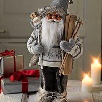 Kerstman HERVARD H41cm wit