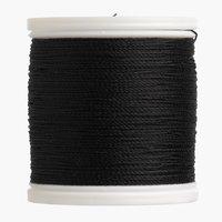 Sytråd extra stark 80m svart