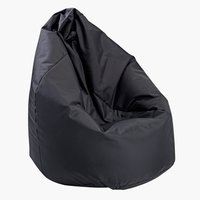 Zitzak KOLIND 60x60x90 zwart