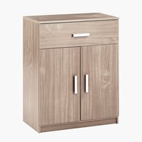 1-drawer 2-door chest KABDRUP combi oak