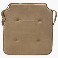 Jastuk za stolice ANTEN 41x43x3 smeđa