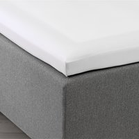 Kuvertlakan satin 300TC 90x200x6-10 vit