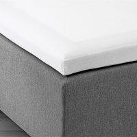 Kuvertlagen 120x200x6-10cm hvid