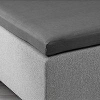 Overmadrasslaken 180x200x6-10 grå