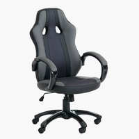 Office chair AGGESTRUP grey/black
