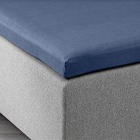 Kuvertlakan 180x200x6-10cm blå