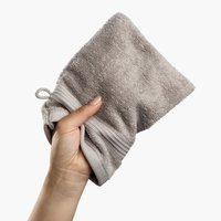Washing glove KARLSTAD light grey