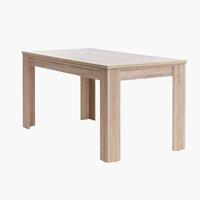 Étkezőasztal HALLUND 80x160 cm tölgy