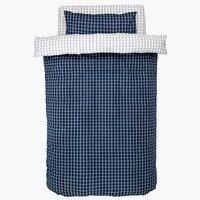 Спално бельо с чаршаф KARIN SGL синьо