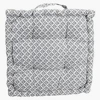 Sittepute HEIFRYTLE 40x40x5 grå