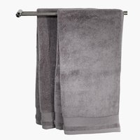Bath towel NORA grey KRONBORG