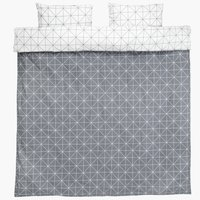 Duvet cover ATLA DBL grey