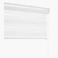 Rullegardin Duo IDSE 140x180cm hvid