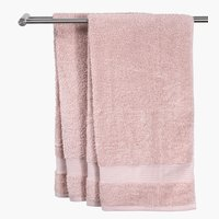 Hand towel KARLSTAD light red KRONBORG