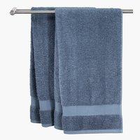 Fürdőlepedő KARLSTAD 100x150 sz.kék KRO.