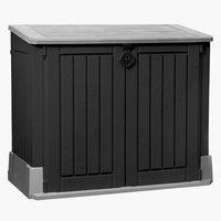 Aufbewahrungsbox HENNE 132x110x74 schwar