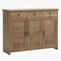 Sideboard MANDERUP 3 door 3 drw oak