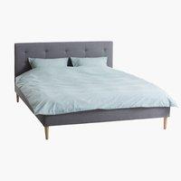 Sänkykehikko MILLINGE 140x200 v.harmaa
