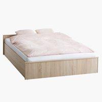 Рамка за легло GENTOFTE 160x200 дъб