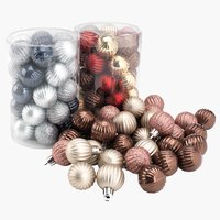 Christmas bauble HELIOTROP 34 pack