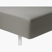 Čaršav mikro 180x200x25cm siva