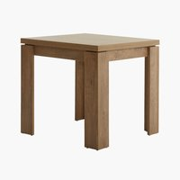 Dining table VEDDE 80x80/160 oak