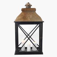 Lantern KNOPPSVANE W23×L38×H70 copper
