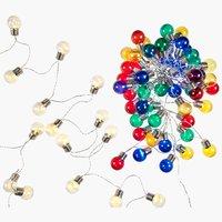 Svetelná reťaz FINK 12 m 50 LED rôzne
